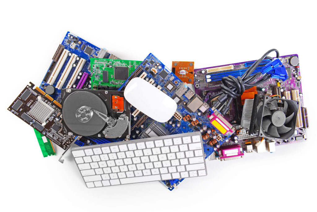 computer parts - recycle